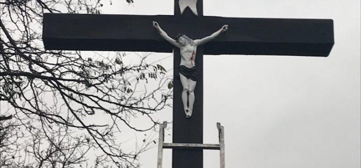Krzyż przy ul. Dolnej !!!