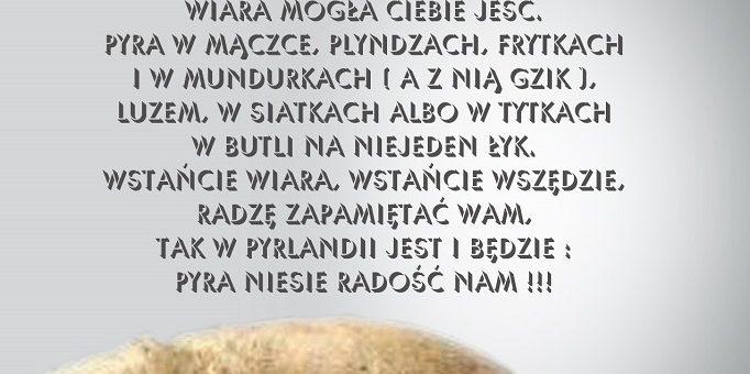 Msza Dożynkowa oraz Święto Pyry wśród pojazdów OSP !